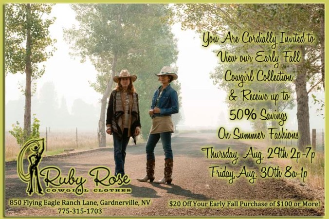 Ruby Rose Cowgirl Clothes Early Fall Collection