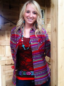 Ashley Serape Shirt 2